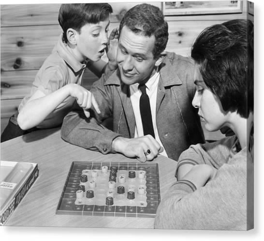 The Game Is Nirtz Canvas Print by Archive Photos