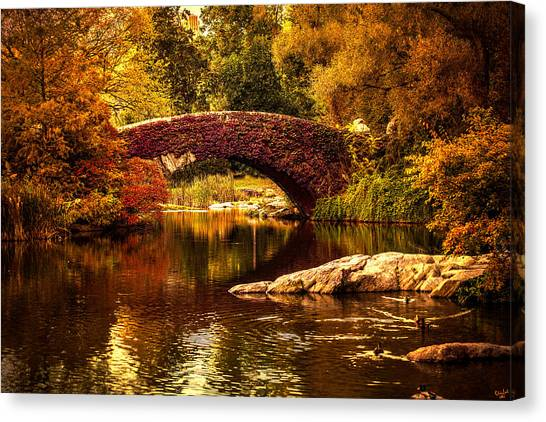 The Gapstow Bridge Canvas Print