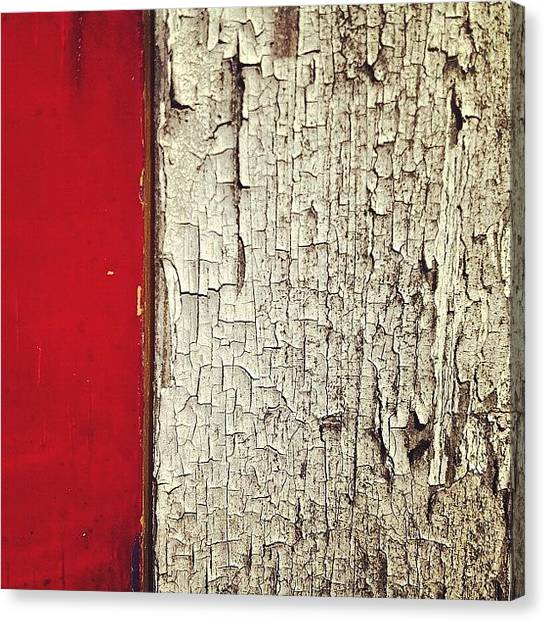 Abstract Canvas Print - The Garage Needs Painting by Nic Squirrell