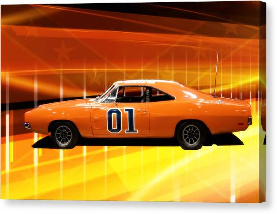 The General Lee Canvas Print
