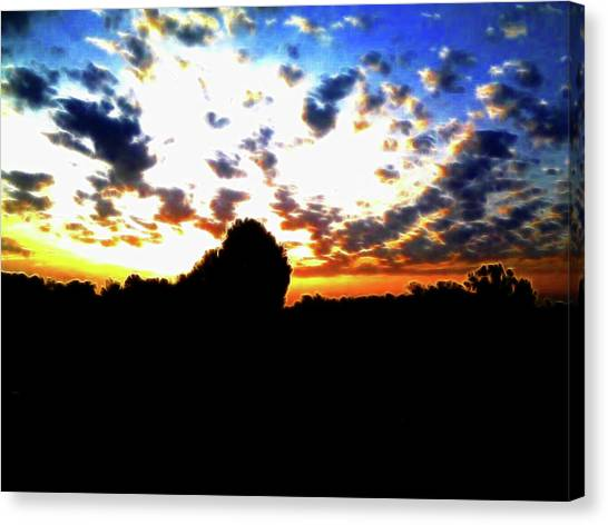 The Gift Of A New Day Canvas Print