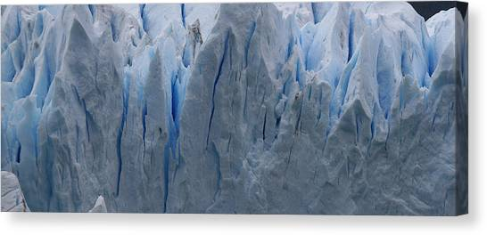 The Glacier Up Close Canvas Print