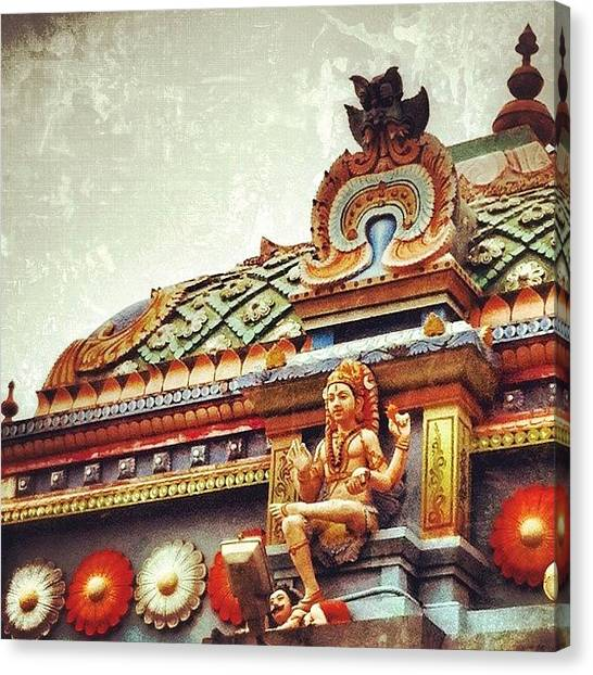 Temples Canvas Print - The Gods Footstool ~ #instagram #india by Abid Saeed
