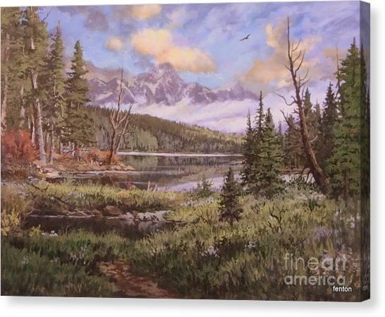 The Gore Range Canvas Print by W  Scott Fenton