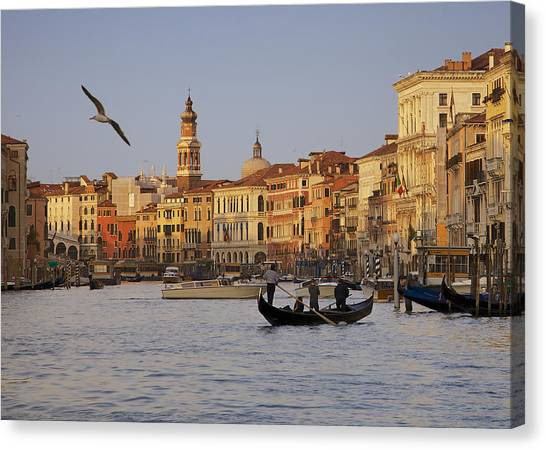 The Grand Canal Canvas Print by Daniel Sands