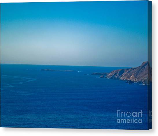 The Great Atlantic At Slieve League Canvas Print by Black Sun Forge