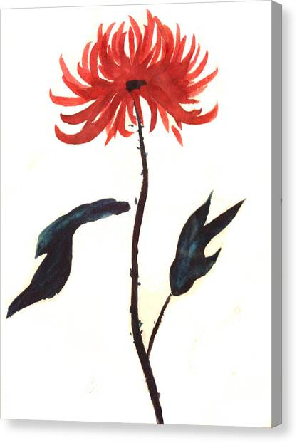 The Great Chrysanthemum Canvas Print