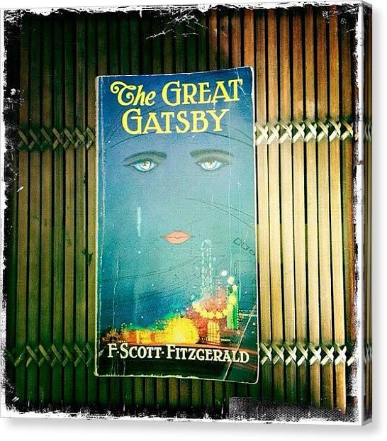 Supplies Canvas Print - The Great Gatsby by Natasha Marco