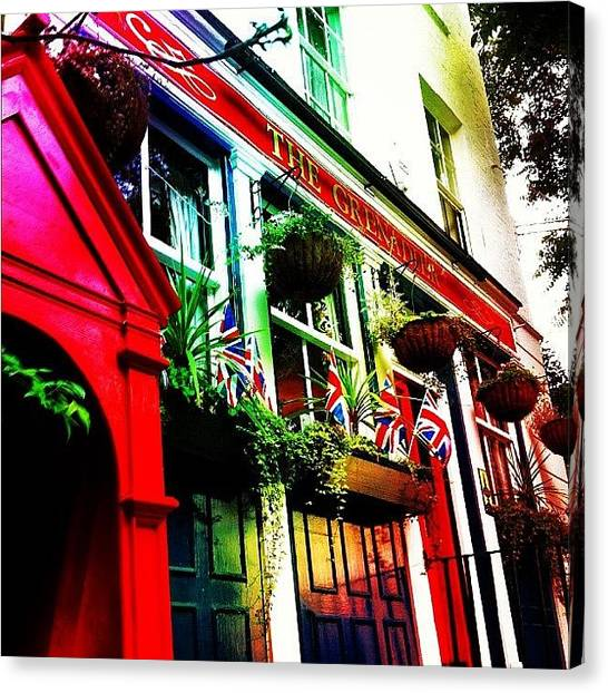 Pub Canvas Print - The #grenadier #pub #public #house by Andy Johnson