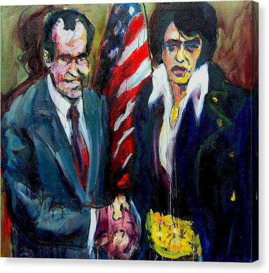 The Hand Shake Canvas Print