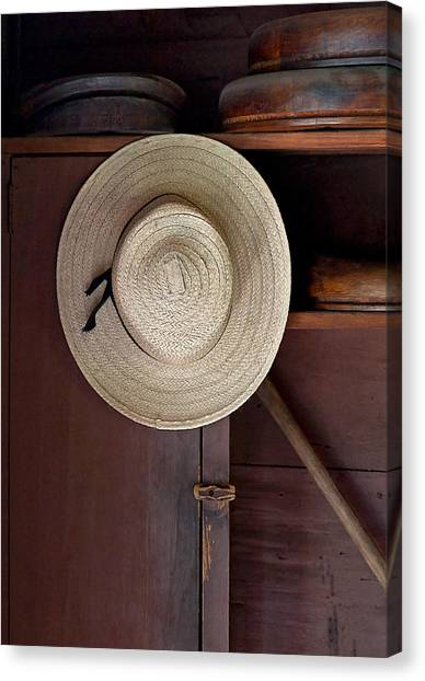 The Hat Shop Canvas Print