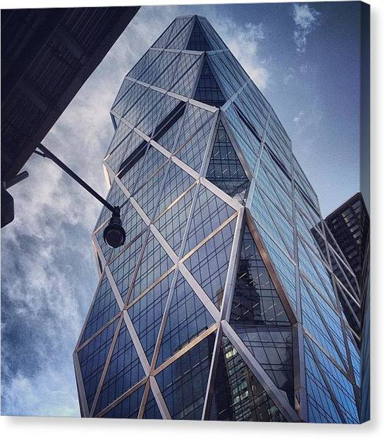 German Canvas Print - The Hearst Building by Randy Lemoine