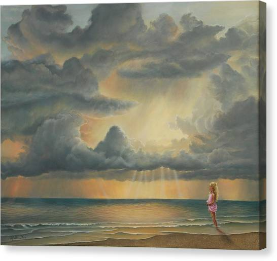 The Heavens Declare His Glory Canvas Print by Ruth Gee
