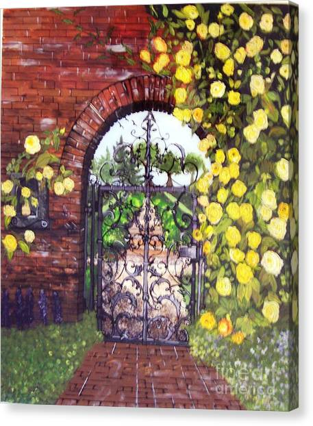 The Iron Gate Canvas Print