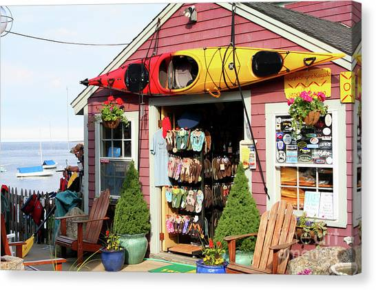 The Kayak Store Canvas Print