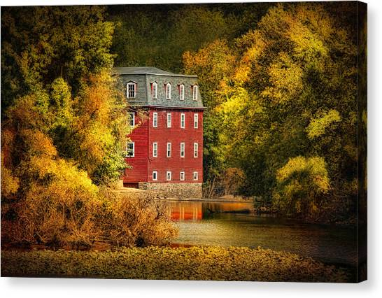 The Kingston Mill Canvas Print