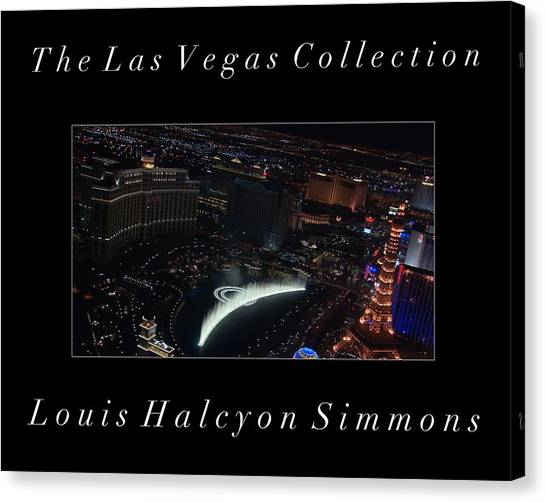 The Las Vegas Collection Canvas Print by Louis Simmons