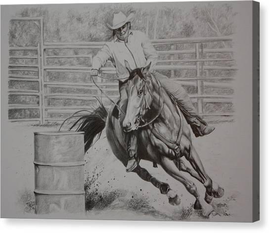 The Last Barrel Canvas Print