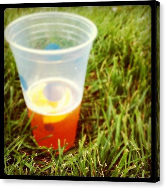 Lemons Canvas Print - The Last Breath Of Summer by DJ Flem