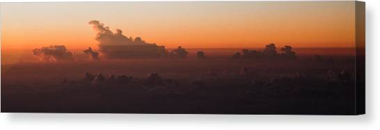 The Last Light Canvas Print by Michael Braxenthaler