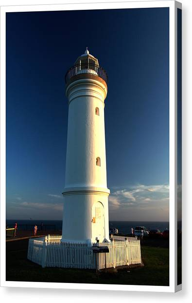 The Light Tower Canvas Print by Alexey Dubrovin