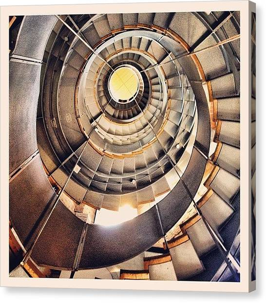 Spiral Canvas Print - The Lighthouse, Charles Rennie by Robert Campbell