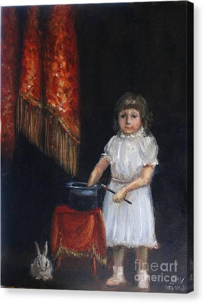 The Little Magician Canvas Print by Stella Violano