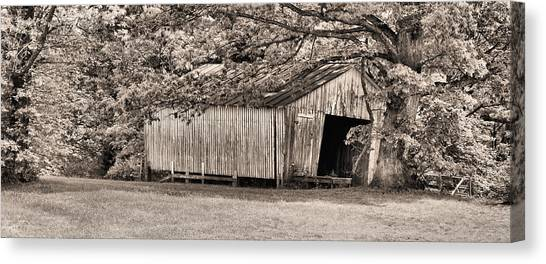 The Long Barn Canvas Print by JC Findley