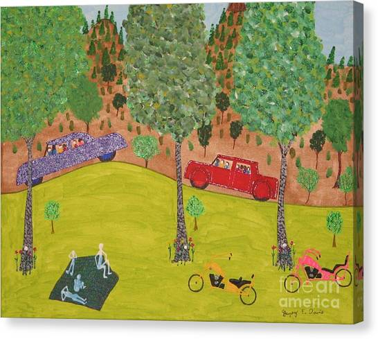 The Long Vacation Canvas Print by Gregory Davis