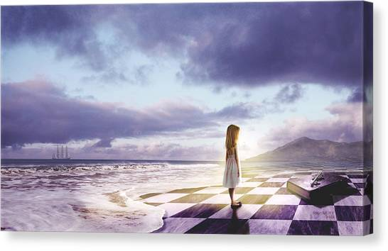The Lost Story Canvas Print
