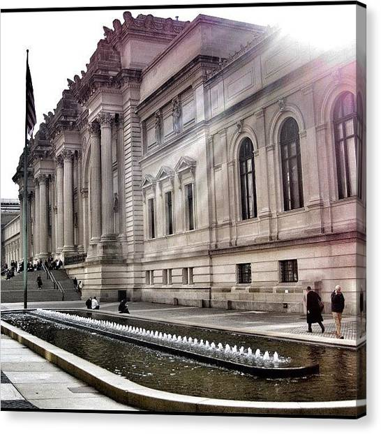 Greek Art Canvas Print - The #met - Fav Exhibit Had To Be by Walied A