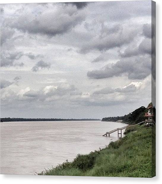 Environment Canvas Print - The Mighty Mekong River by Will Banks