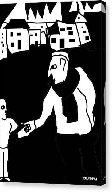 The Molester Canvas Print