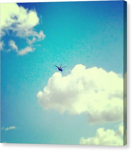 Helicopters Canvas Print - The Moscow #helicopter  2012 ||| #fun by Konstantin R