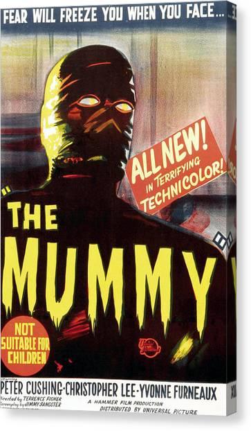 The Mummy, Austrailian One Sheet Canvas Print by Everett