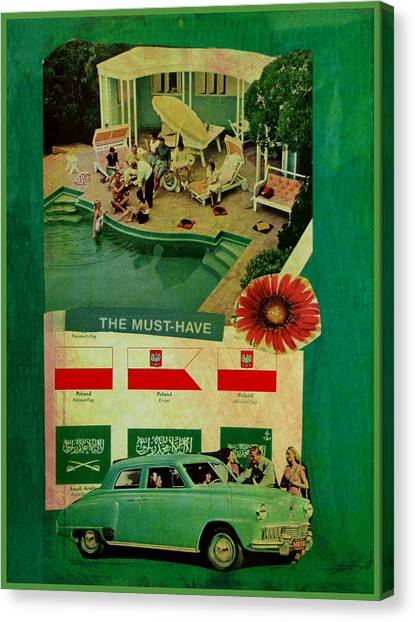 Canvas Print - The Must Have by Adam Kissel