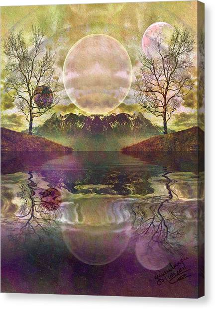 The Mystery Of Dawn Canvas Print