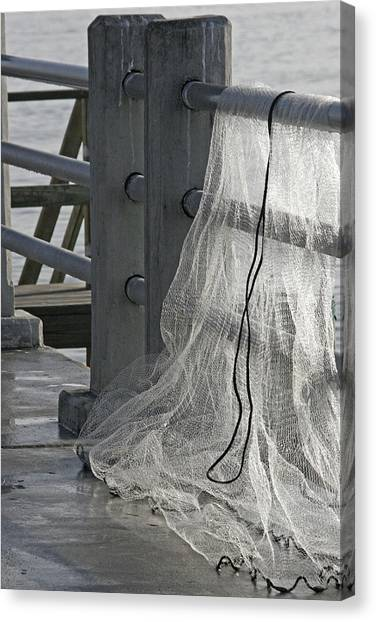 The Net Canvas Print