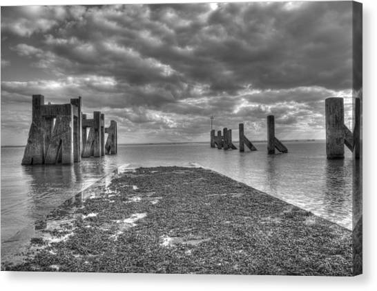 The Old Harbour Canvas Print by Kevin Bates