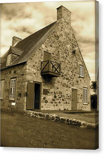 The Old Presbytery Canvas Print