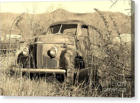 The Ole Studebaker Canvas Print by Laurinda Bowling
