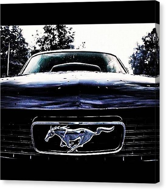 Ford Canvas Print - The One, And Only ! by Thierry Matsaert