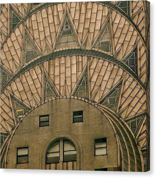 Skyscrapers Canvas Print - The One And Only Chrysler Bldg. - New by Joel Lopez