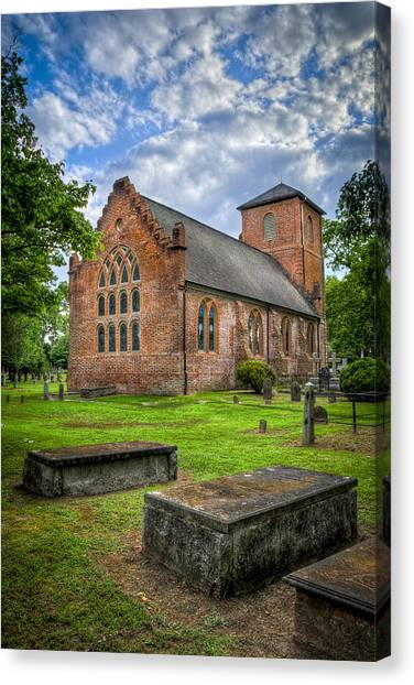 The Other Side Of St Lukes Canvas Print by Williams-Cairns Photography LLC