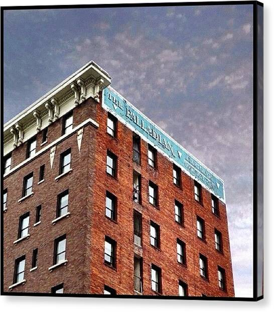 Seattle Canvas Print - The Palladian by T Catonpremise