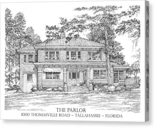 The Parlor Tallahassee Florida Canvas Print