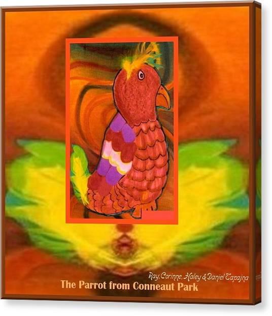 The Parrot From Conneaut Lake Park Canvas Print