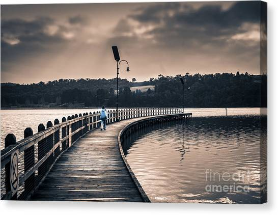 The Peir Canvas Print