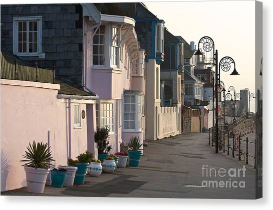 The Perl Of Dorset  Canvas Print