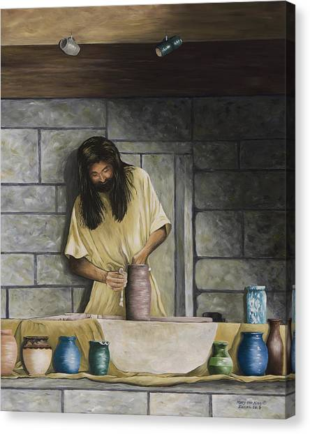 The Potter's House Canvas Print